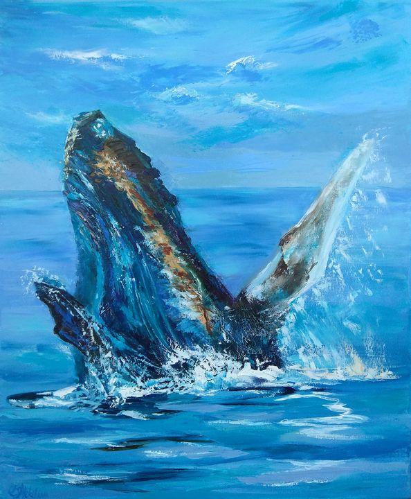 Humpback Whale - Olga Nikitina