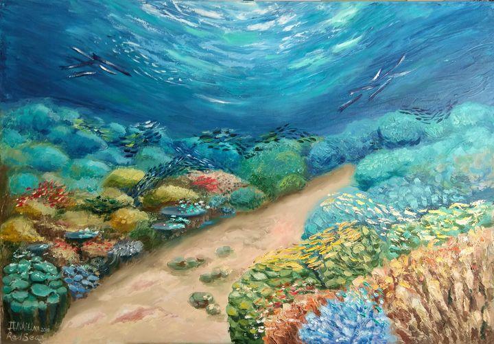 Coral Reef of the Red Sea - Olga Nikitina