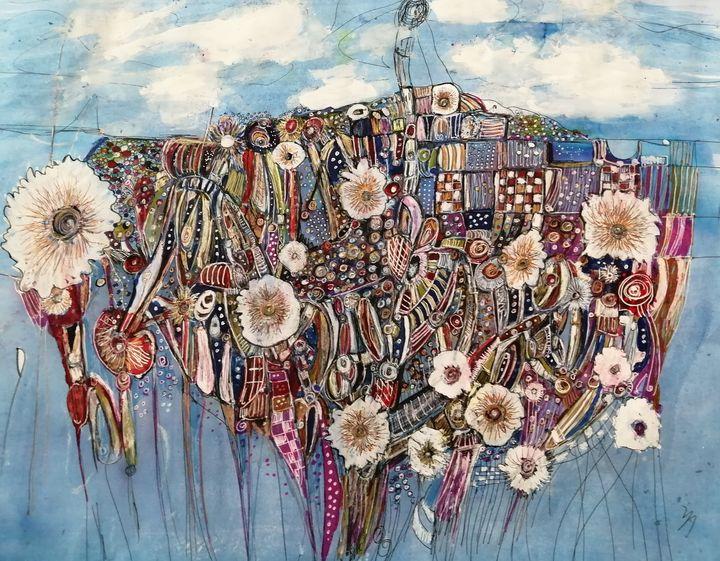 Cloud and sea - Fiona Sutherland Muir