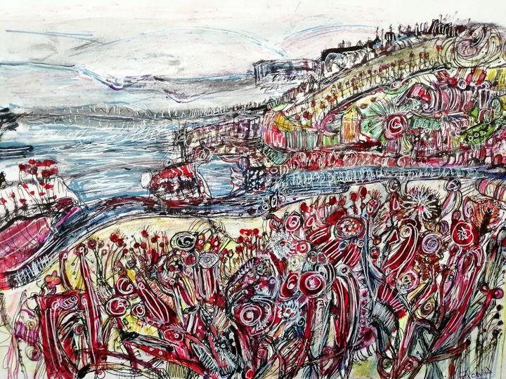 Carradale Harbour kintyre Scotland. - Fiona Sutherland Muir
