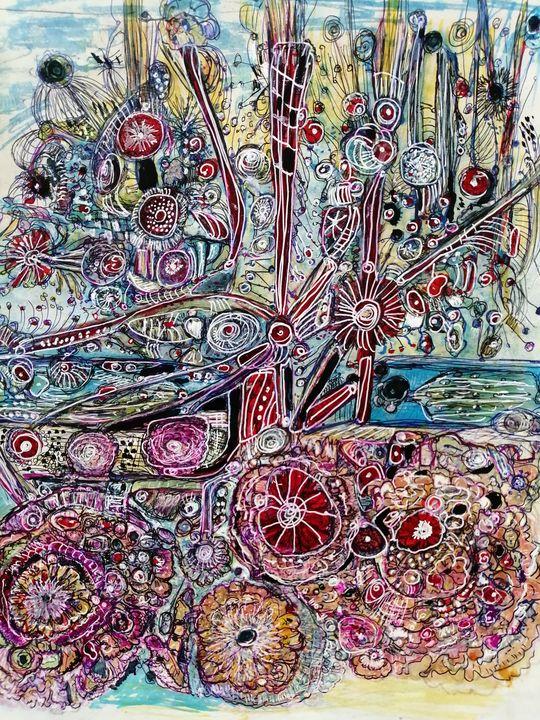 Alliums - Fiona Sutherland Muir