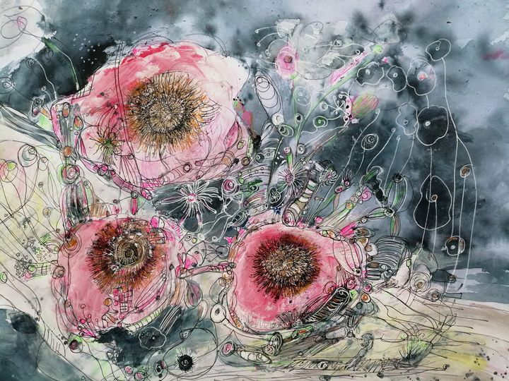 Roses for you. - Fiona Sutherland Muir