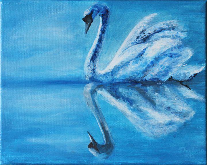 Swan - Sha Liao Art