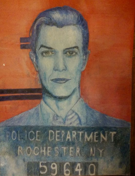 David Bowie - Ryan Fagan Art