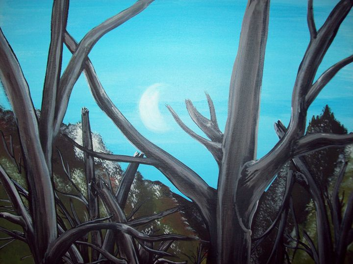 Forest Moon - Graphicsandpigments
