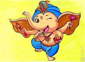 Jolly Ganesha