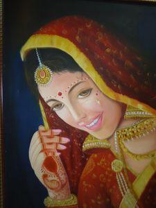 An Indian beauty