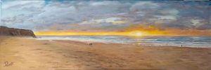 Sunset Praia Grande do Rodízio