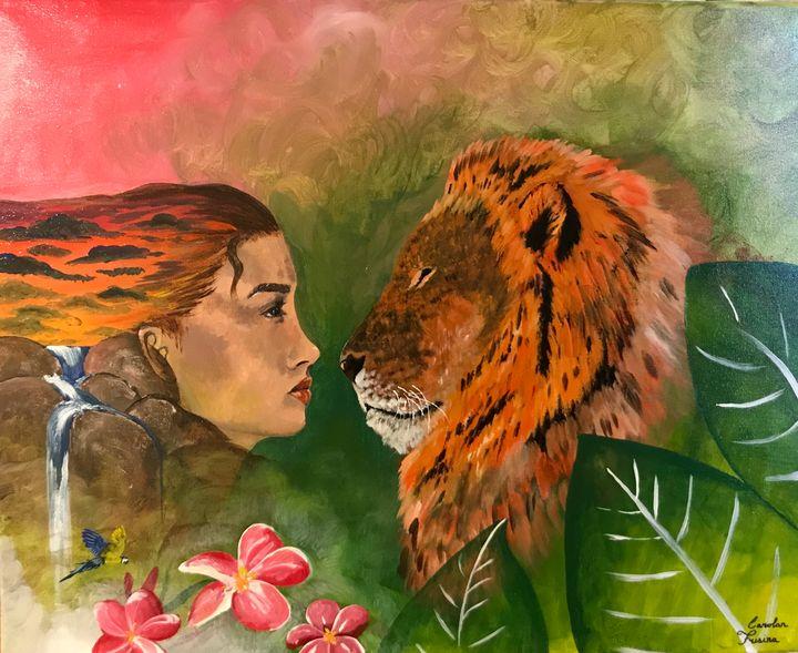Laily and the Lion - Carolan Frisina