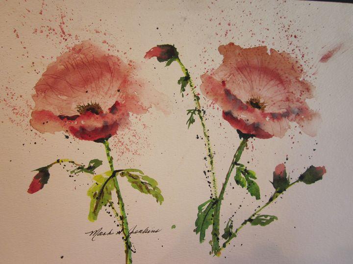 Floral 358 - Mark Jenkins Watercolors
