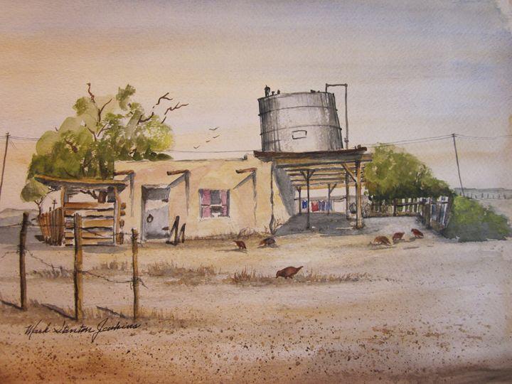 Bustamonte, Mexico 492 - Mark Jenkins Watercolors
