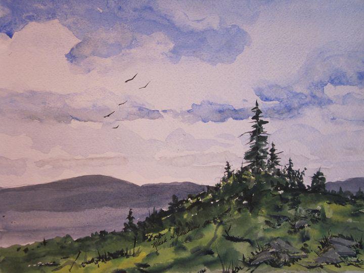 Lake Tahoe Area, Ca. 474 - Mark Jenkins Watercolors