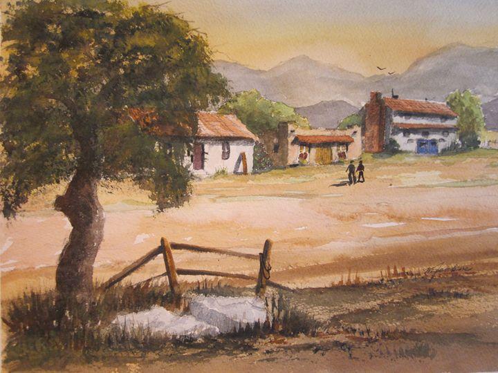 Sabinas, Mexico 431 - Mark Jenkins Watercolors