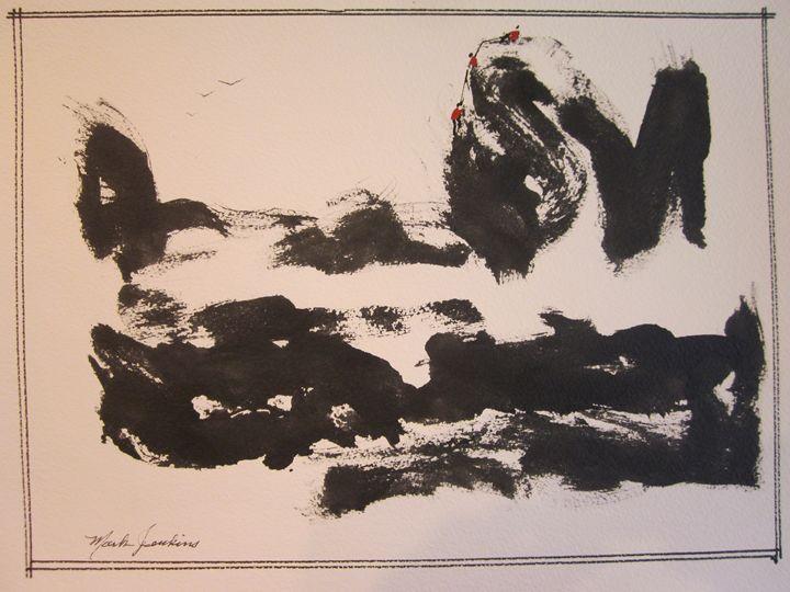 Sumi Ink Sketch  560 - Mark Jenkins Watercolors