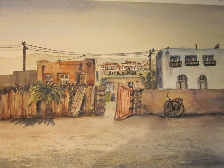 Potrero, Mexico 624 - Mark Jenkins Watercolors