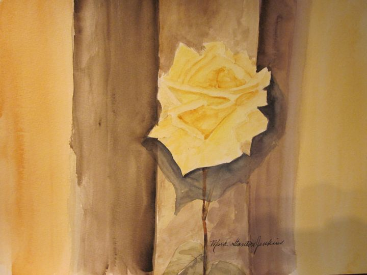 Rose 658 - Mark Jenkins Watercolors