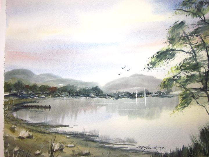 Lake Community 15 - Mark Jenkins Watercolors