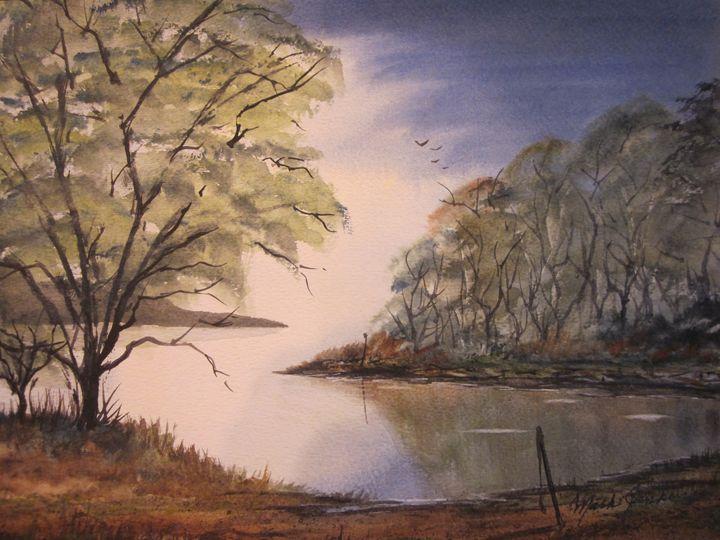 Watercolor 291 - Mark Jenkins Watercolors