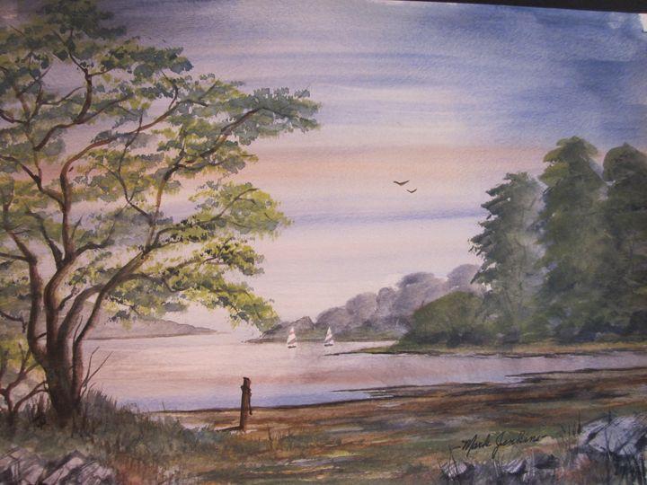 Sail Away 320 - Mark Jenkins Watercolors