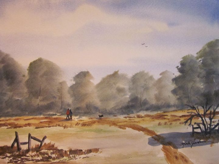 Country Walk 326 - Mark Jenkins Watercolors