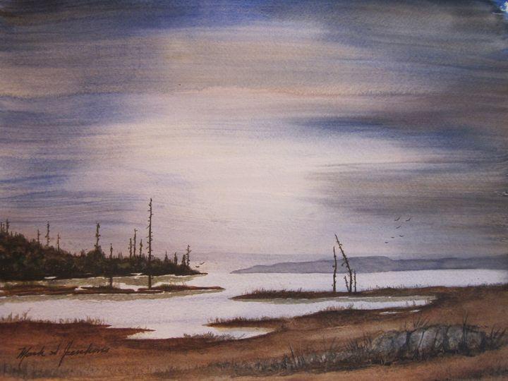 Bay Flats 2 338 - Mark Jenkins Watercolors