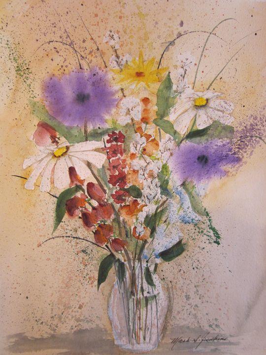 Flowers 361 - Mark Jenkins Watercolors