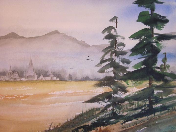 Seminary 418 - Mark Jenkins Watercolors