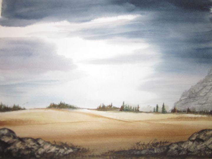 Open Field 340 - Mark Jenkins Watercolors