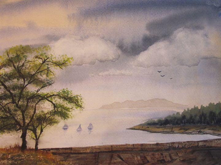 Sailing the Shoreline 472 - Mark Jenkins Watercolors