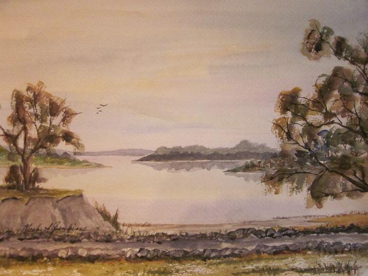 Bayside Path 480 - Mark Jenkins Watercolors