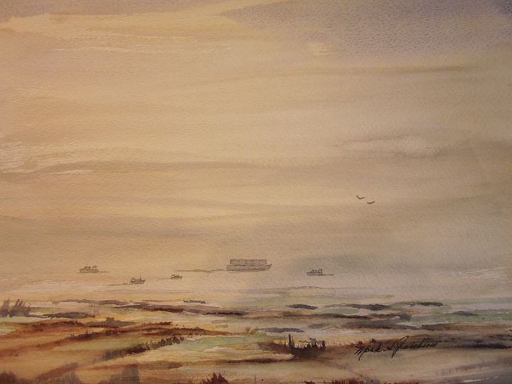 Bayside 485 - Mark Jenkins Watercolors