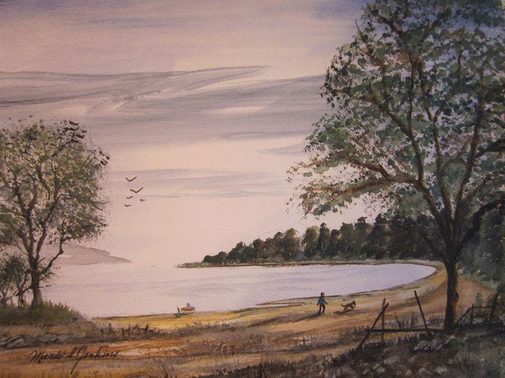 A Good, Good Day 491 - Mark Jenkins Watercolors