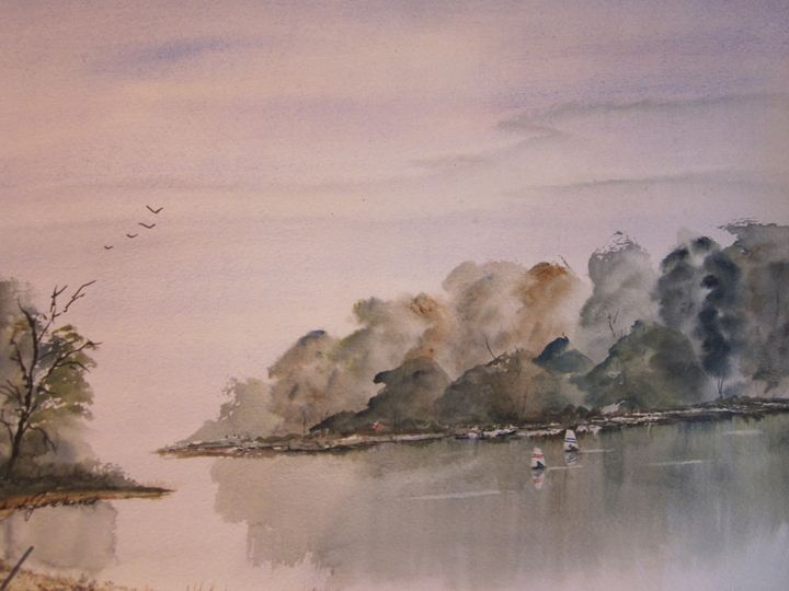 Young Sailors 498 - Mark Jenkins Watercolors