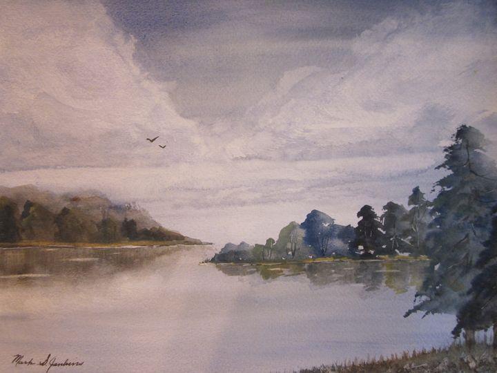 Beautiful Bay 499 - Mark Jenkins Watercolors