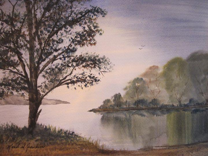 How Peaceful 509 - Mark Jenkins Watercolors