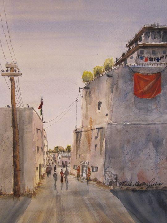 Monterey, Mexico 516 - Mark Jenkins Watercolors