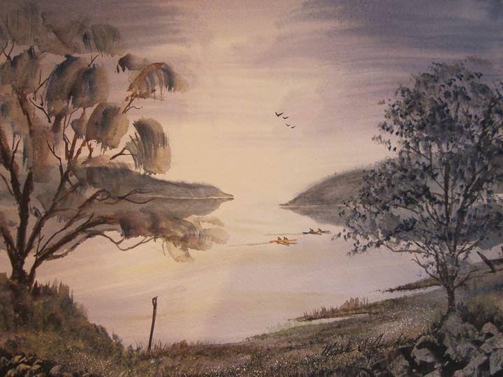 Skul Pracgice 525 - Mark Jenkins Watercolors