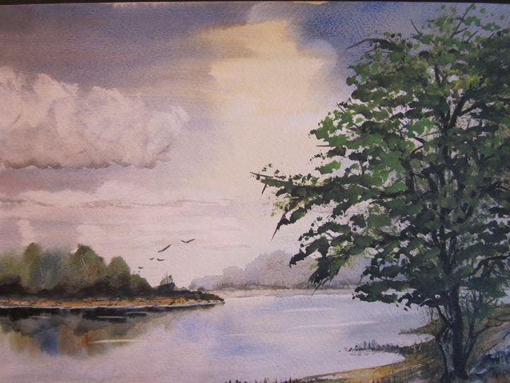 Hideaway Bay 527 - Mark Jenkins Watercolors