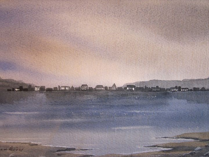 City Scapes 575 - Mark Jenkins Watercolors