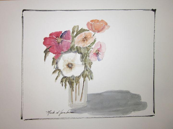 Floral 316 - Mark Jenkins Watercolors