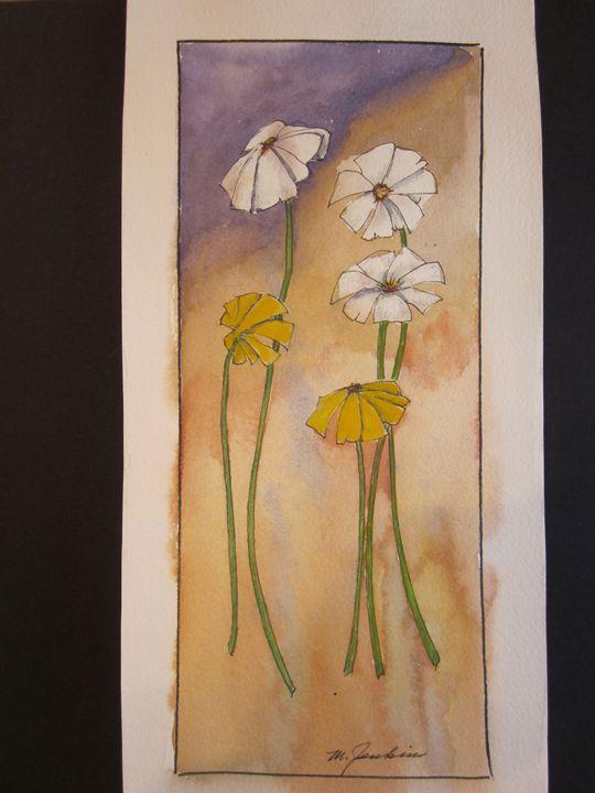 Flowers 591 - Mark Jenkins Watercolors