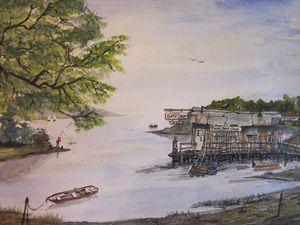 Sam's Bait Shop 674 - Mark Jenkins Watercolors