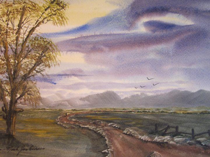Country Road 638 - Mark Jenkins Watercolors