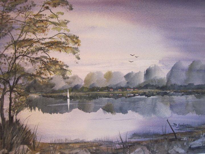 On the Lake 632 - Mark Jenkins Watercolors