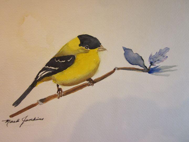 Bird 631 a - Mark Jenkins Watercolors