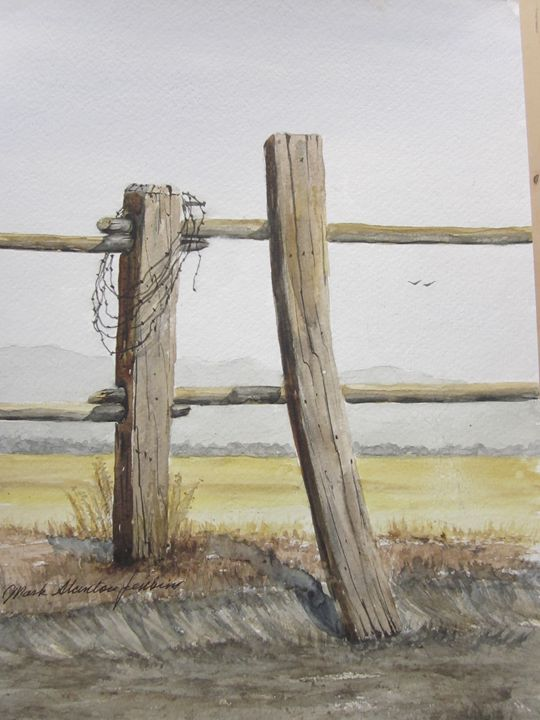Montana 6 - Mark Jenkins Watercolors