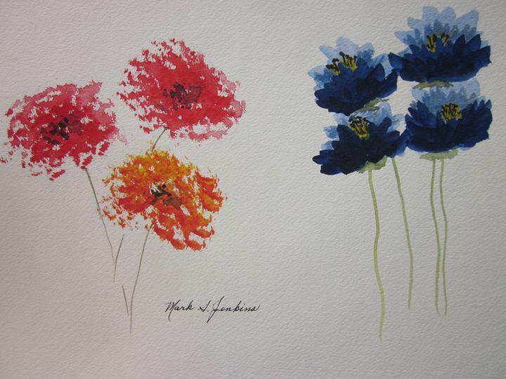 Flowers 368 - Mark Jenkins Watercolors