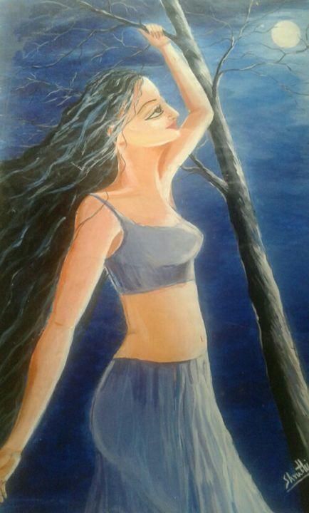 In moonlight - sruthi
