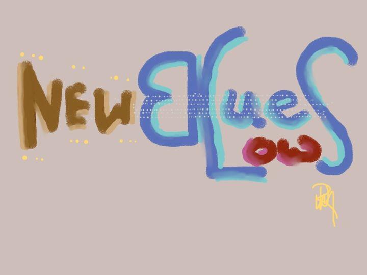 New Low Blues Logo - BRICKINCS