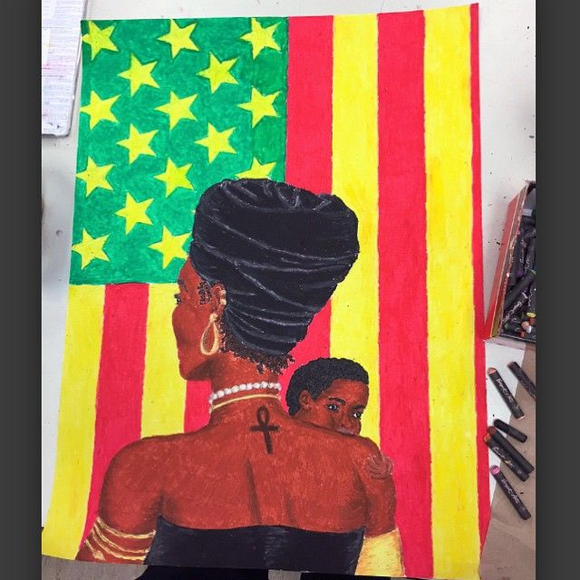 African-American - Battle Art